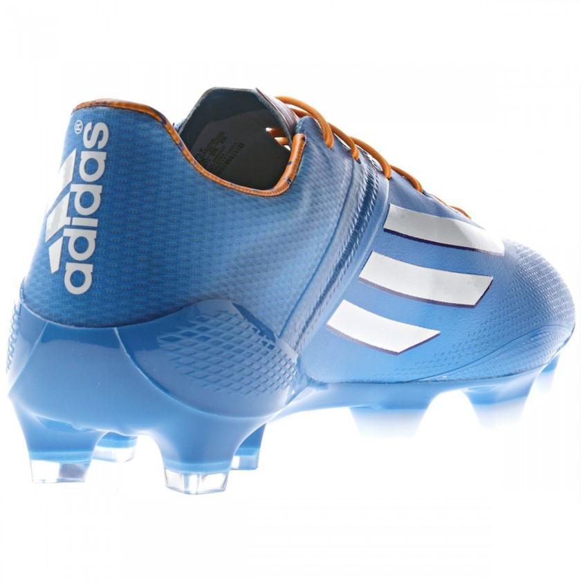 adizero F50 Fussballschuh - Samba Edition blau rear 2013 von adidas
