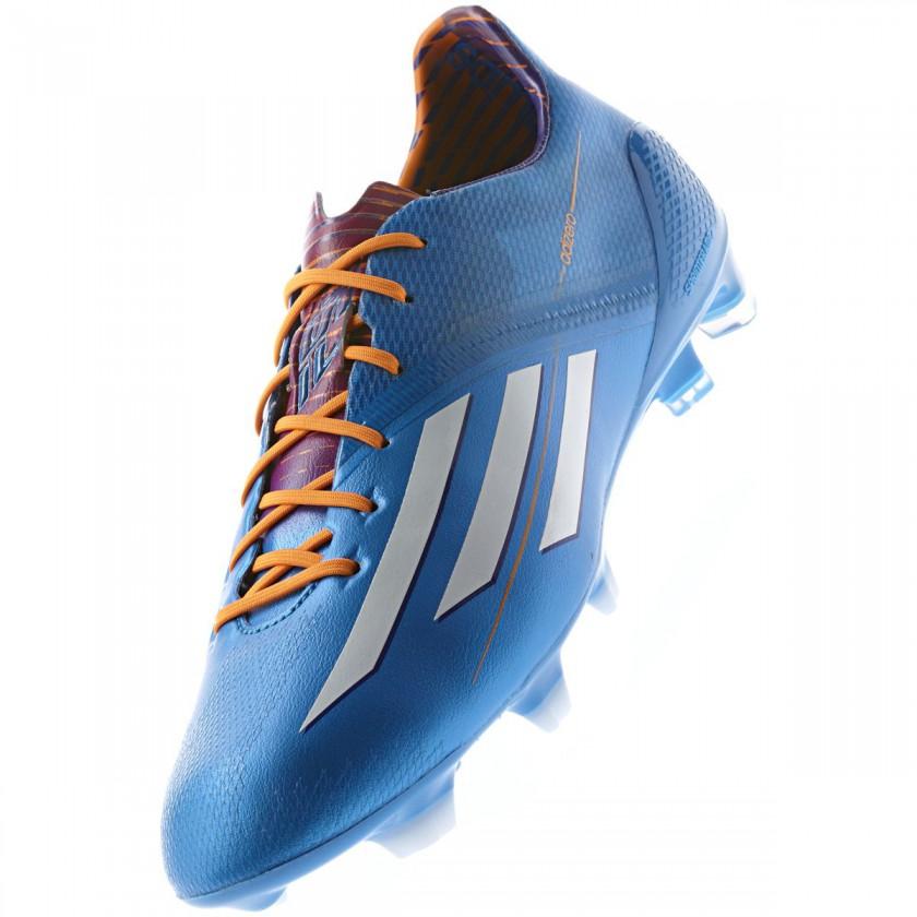 adizero F50 Fussballschuh - Samba Edition blau front 2013 von adidas