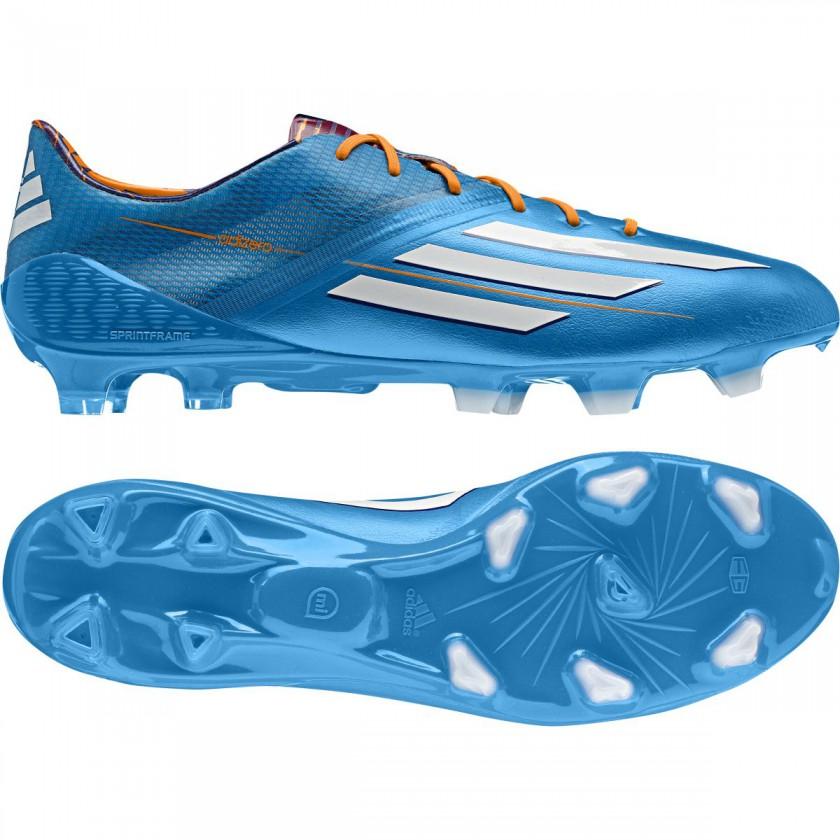 adizero F50 Fussballschuh - Samba Edition blau side/sole 2013 von adidas