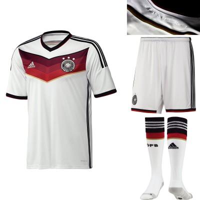 DFB-Heim-Trikot, Shorts und Socken fr die Fussball-Weltmeisterschaft 2014 in Brasilien von adidas