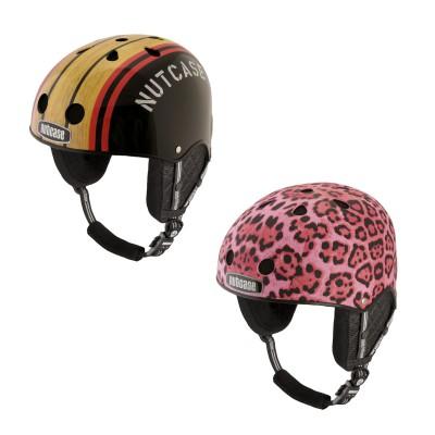 Snow Sport-Helme: Stumptown Woody, Pink Cheetah 2014/15 von NUTCASE