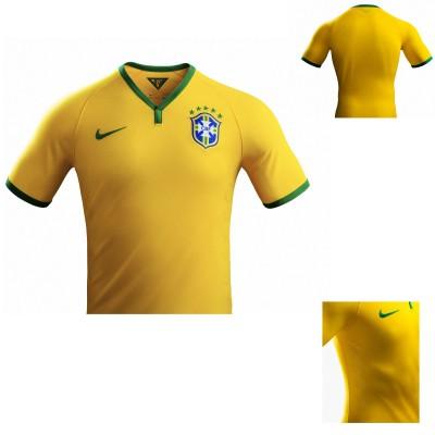 Brasilien Nationaltrikot Home 2014 von Nike