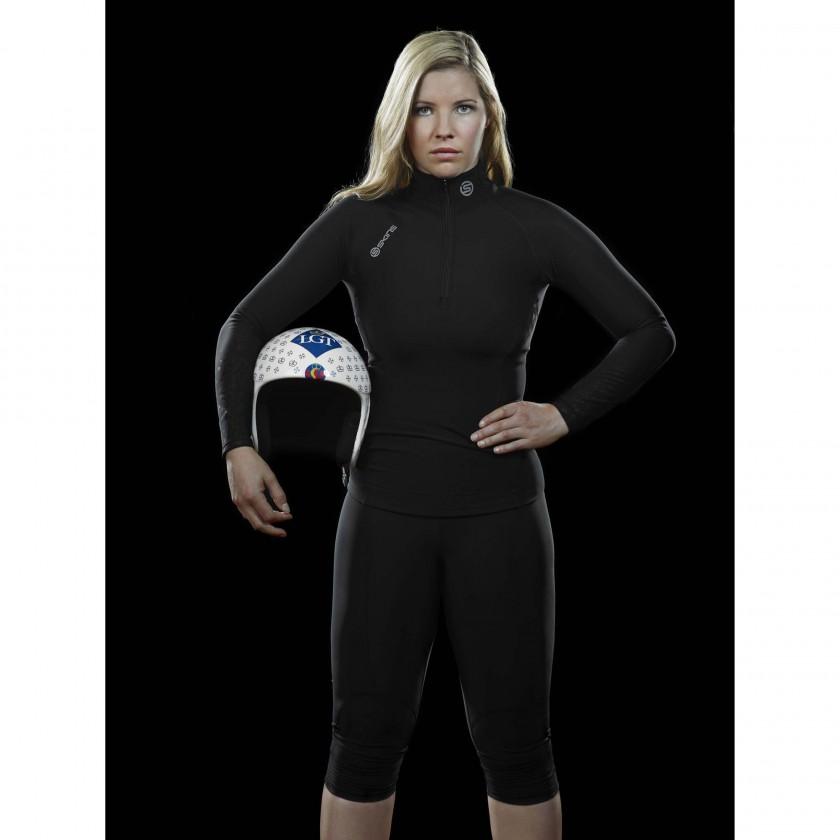 Tina Weirather startet mit SKINS Kompressionsbekleidung in den Olympia-Winter 2013/14