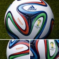 BRAZUCA: Spielball der FIFA Fuball-Weltmeisterschaft 2014 in Brasilien detail von adidas