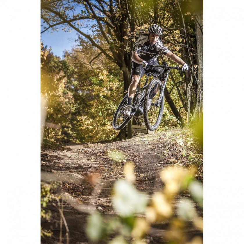Tramount 29er 1 Lefty E-Mountainbike Action 2014 von Cannondale