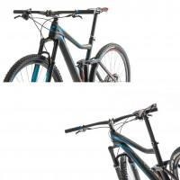 Stereo Super HPC SLT 29 Mountainbike: Ansicht seitlich vorne und seitlich hinten 2014 von CUBE
