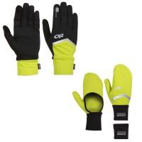 Speed Sensor Gloves u. Hot Pursuit Convertible Wrist Warmers 2014 von Outdoor Research
