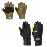Handbrake Gloves u. Hot Pursuit Convertible Running Gloves 2014 von Outdoor Research