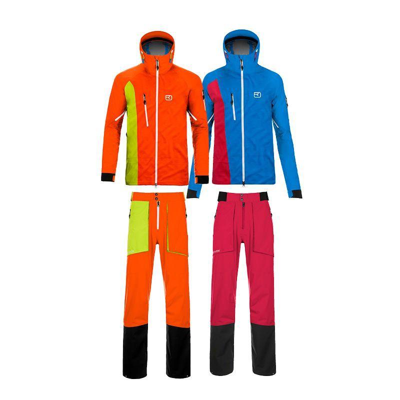 MERINO HARDSHELL 3L LA GRAVE Ski-Jacke/Pants Men u. ALAGNA Ski-Jacke/Pants Women 2014/15 von ORTOVOX