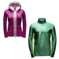 Rime Jacket Ladies u. Fuel Cell Halfzip Jacket Men 2014/15 von KJUS