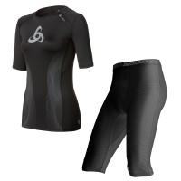Muscle Force T-Shirt s/s crew neck u. Shorts Women 2014 von ODLO