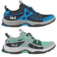 RIVERSIDE Active Trail Schuh Men/Women classic-blue/spearmint 2014 von Jack Wolfskin