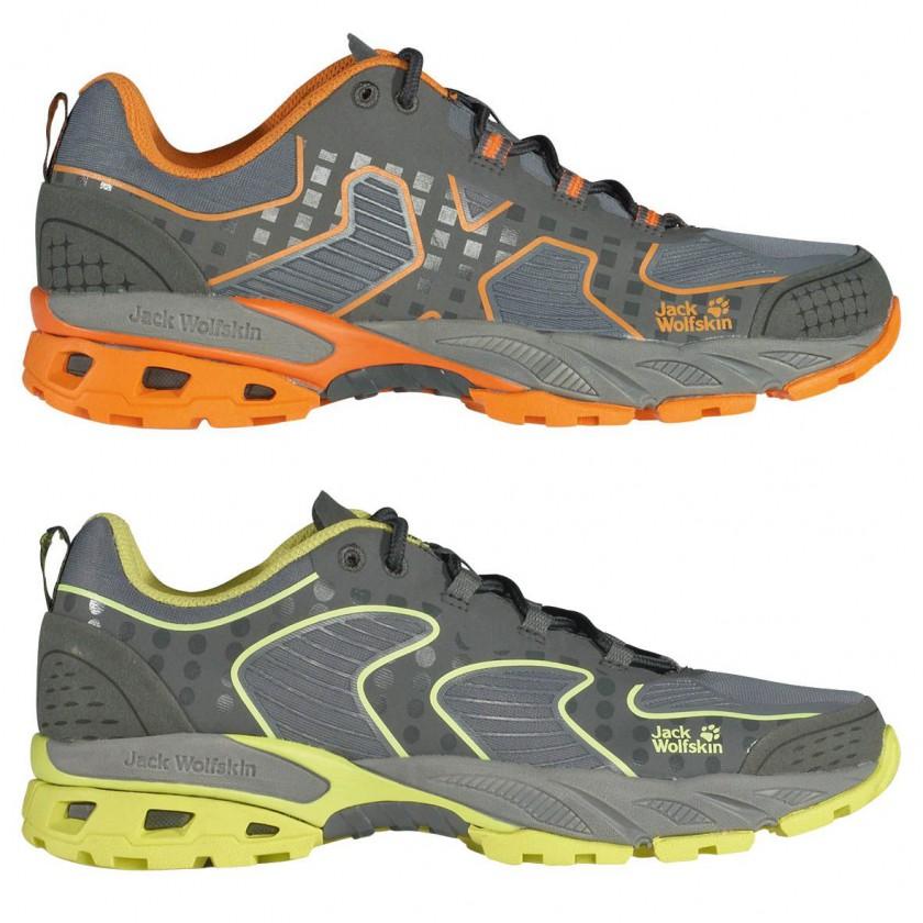 HIDEAWAY Active Trail Schuh Men/Women mandarin/fresh-lemon 2014 von Jack Wolfskin