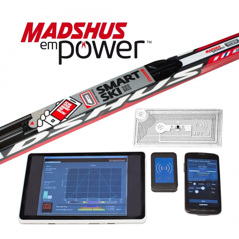 Smarter XC-Ski mit empower technology und passender APP von MADSHUS fr 2014/15