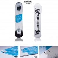 Other Side Snowboard front/back 2014 von Schneebrett