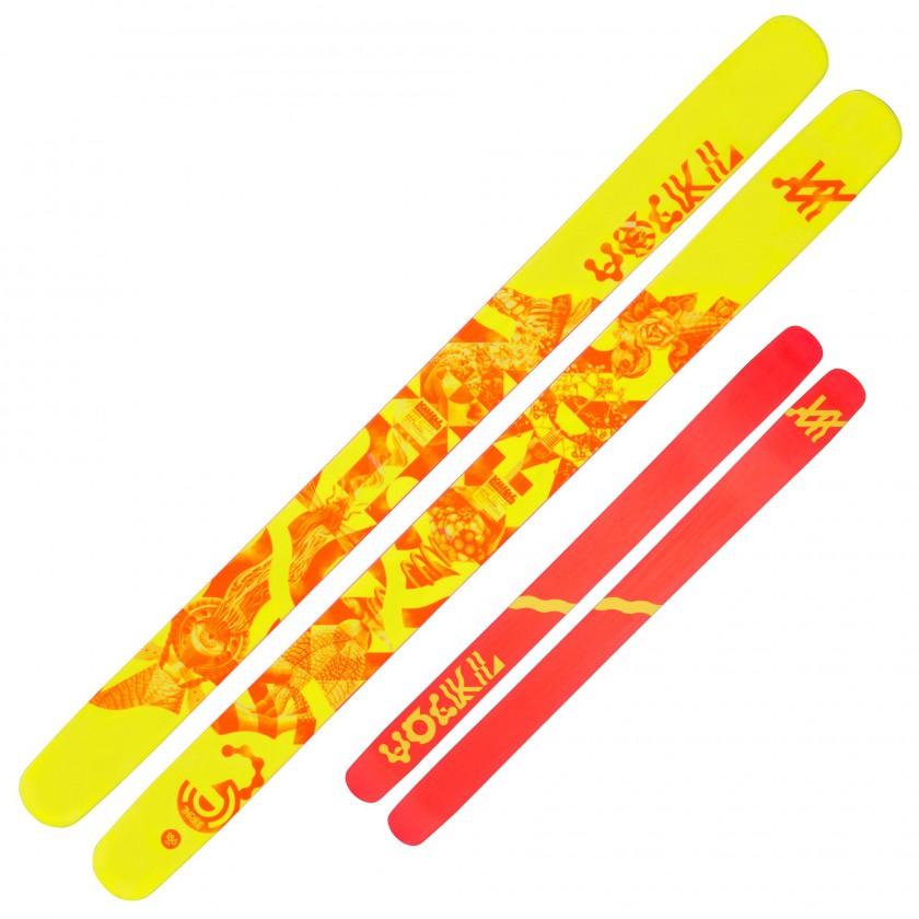 THREE Freeride-Ski top/base 2014/15 von VLKL