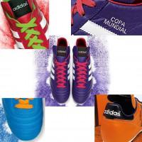 Copa Mundial Fuballschuh Samba Kollektion purple + details 2014 von adidas