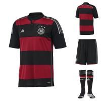Auswrtstrikot der deutschen Nationalmannschaft fr 2014 von adidas