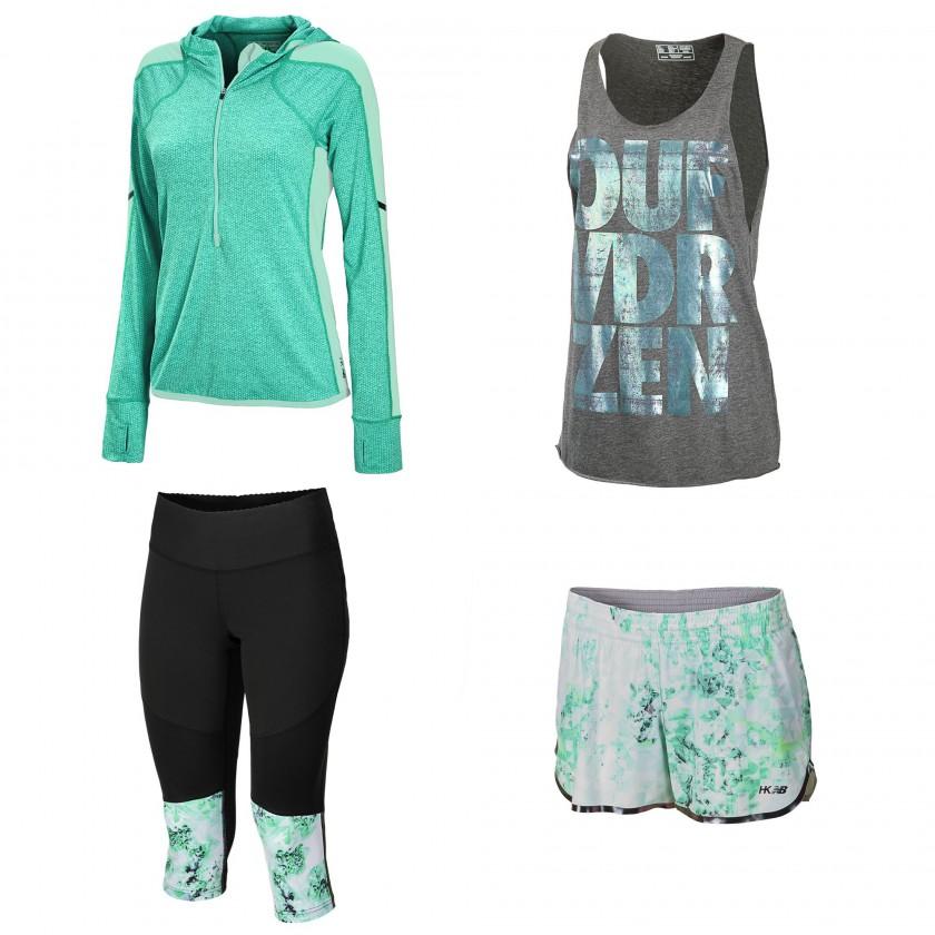 Heidi Klum for New Balance Sportbekleidungs-Kollektion 2014 Teil 2
