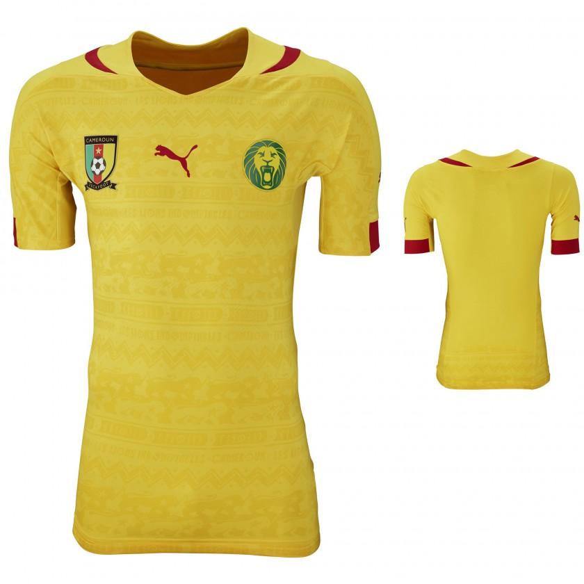 promo code 2c6f8 14ebe Bild: Trikot Kamerun Auswärts für die Weltmeisterschaft 2014 ...