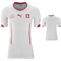 Trikot Schweiz Auswrts fr die Weltmeisterschaft 2014 in Brasilien von PUMA