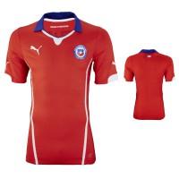 Trikot Chile Home fr die Weltmeisterschaft 2014 in Brasilien von PUMA