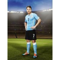 Cristian Rodriguez im Trikot Uruguay Home fr die Fussball-Weltmeisterschaft 2014 in Brasilien von PUMA