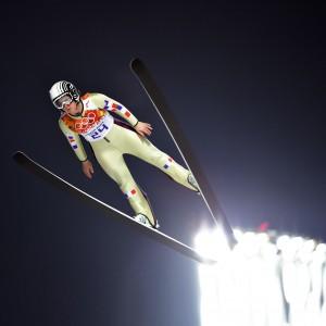 Coline Mattel gewann Olympia-Bronze 2014 in Sotschi im Skispringen