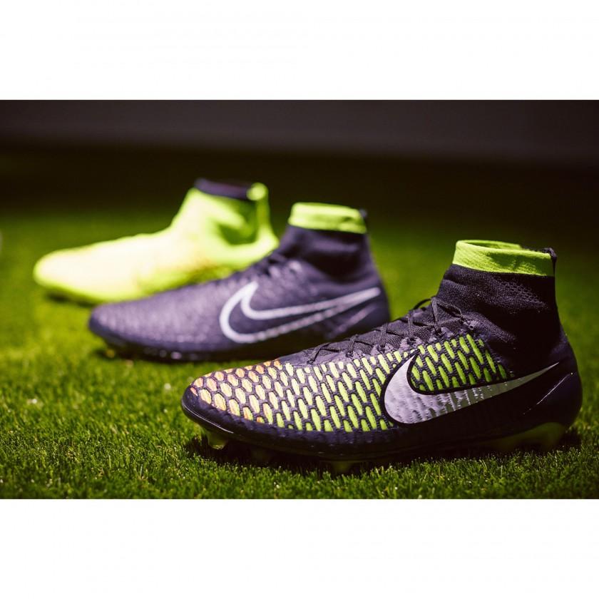 Magista Fußballschuh side black/yellow 2014 von Nike