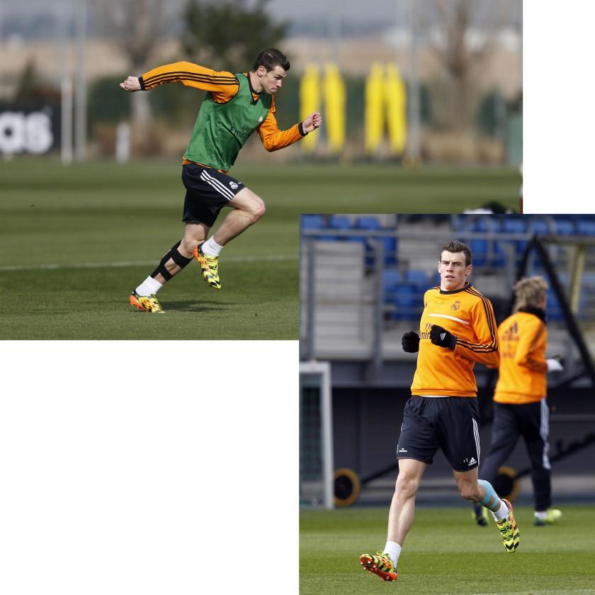 Gareth Bale von Real Madrid im adizero f50 crazylight Fußballschuh 2014 von adidas