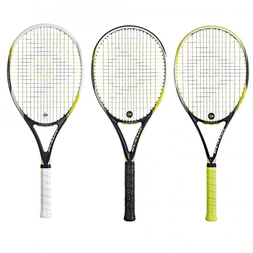 DTR-R 6.0, 5.0 u. 3.0 Revolution NT Tennisschläger mit Natural Tennis Technologie 2014 von DUNLOP