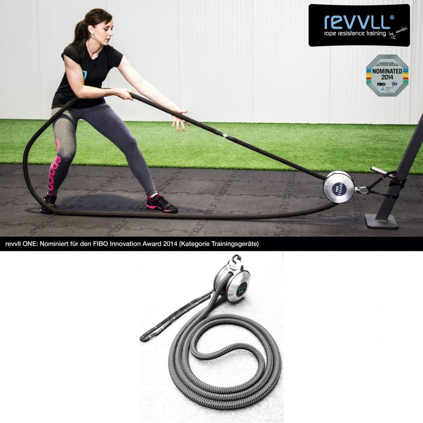 FIBO INNOVATION AWARD 2014 nominiert Revvll One von aerobis - the Functional Movement