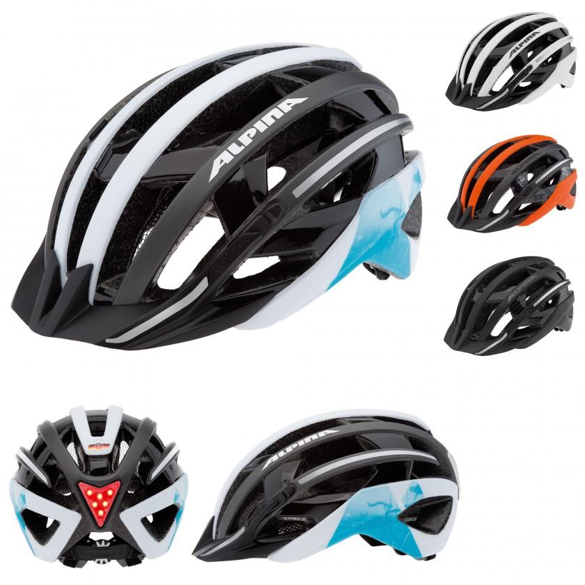 E-HELM DELUXE Fahrradhelm mit TWIN SHELL Technologie 2014 von Alpina Sports