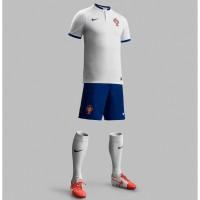 Portugal Auswrtstrikot fr die Fuball-Weltmeisterschaft 2014 in Brasilien von NIKE