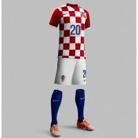Kroatien Heim-Outfit Trikot, Hose, Socken fr die Fuball-Weltmeisterschaft 2014 in Brasilien von NIKE