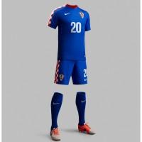 Kroatien Auswrts-Outfit Trikot, Hose, Socken fr die Fuball-Weltmeisterschaft 2014 in Brasilien von NIKE