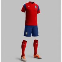 Sdkorea Heim-Outfit Trikot, Hose, Socken fr die Fuball-Weltmeisterschaft 2014 in Brasilien von NIKE