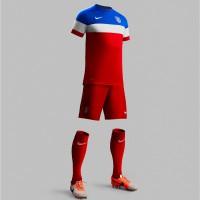 USA Auswrts-Outfit Trikot, Hose, Socken fr die Fuball-Weltmeisterschaft 2014 in Brasilien von NIKE