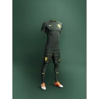 Brasilien Third-Outfit Trikot, Hose, Socken fr die Fuball-Weltmeisterschaft 2014 in Brasilien von NIKE