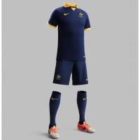 Australien Auswrts-Outfit Trikot, Hose, Socken fr die Fuball-Weltmeisterschaft 2014 in Brasilien von NIKE