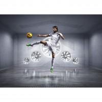 Giorgos Samaras im Griechenland Heim-Outfit Trikot, Hose, Socken fr die Fuball-Weltmeisterschaft 2014 in Brasilien von NIKE