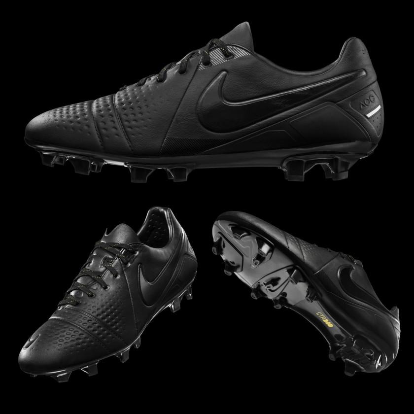 CTR 360 Maestri III Fußballschuh Blackout Limited Edition side/sole 2014 von Nike