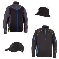Ryder Cup Kollektion 2014: ARAGON Jacke, Dylan 1/2 Zip Pullover, Albert Regenhut u. Atwood Cap 2014 von Galvin Green