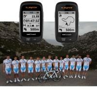 o-synce stattet 2014 das UCI Continental Team La Pomme Marseille 13 mit dem navi2coach GPS-Fahrradcomputer aus