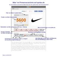 Nike im Firmenverzeichnis auf spoteo.de 09.04.2014 im Detail