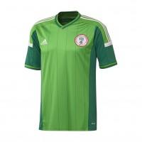 Nigeria Heim-Trikot fr die Fuball-Weltmeisterschaft 2014 in Brasilien von adidas