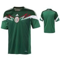 Mexico Heim-Trikot fr die Fuball-Weltmeisterschaft 2014 in Brasilien von adidas