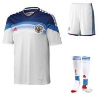 Russland Auswrts-Outfit Trikot, Hose, Socken fr die Fuball-Weltmeisterschaft 2014 in Brasilien von adidas