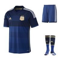Argentinien Auswrts-Outfit Trikot, Hose, Socken fr die Fuball-Weltmeisterschaft 2014 in Brasilien von adidas