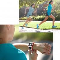 Running-Action mit der TomTom Runner Cardio GPS Sportuhr 2014